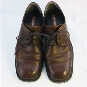 Kenneth Cole Unlisted Brown Oxfords 11.5